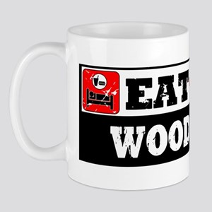 Eat Sleep Wood Shop Mug