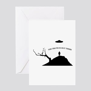 Abduction Greeting Cards