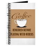 Coffee Required Journal