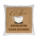 Coffee Required Everyday Pillow