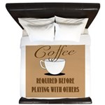 Coffee Required King Duvet