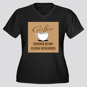 Coffee Required Plus Size T-Shirt