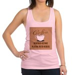 Coffee Required Racerback Tank Top