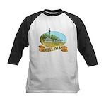 Sanibel Lighthouse - Kids Baseball Jersey