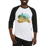 Sanibel Lighthouse - Baseball Jersey