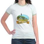 Sanibel Lighthouse - Jr. Ringer T-Shirt