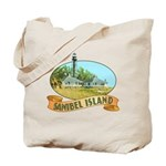 Sanibel Lighthouse - Tote or Beach Bag