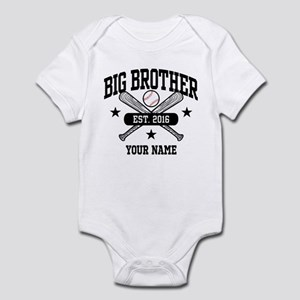 Personalized Big Brother 2016 Base Infant Bodysuit