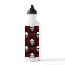 Baroque Skull Stripe P Stainless Water Bottle 1.0L