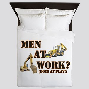 menatwork Queen Duvet