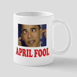 OBAMA FOOL Mugs