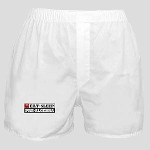 Eat Sleep Pre-Algebra Boxer Shorts