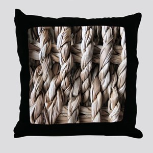 Seagrass Throw Pillow