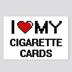 I Love My Cigarette Cards Postcards (Package of 8)