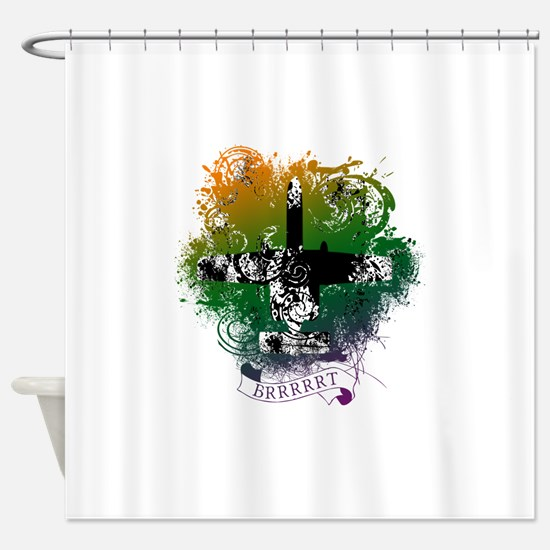 Funny Warthogs Shower Curtain