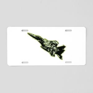 F-15 Eagle - Olive Drab Aluminum License Plate