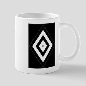 Black/Silver Diamond62 Mugs