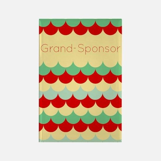Grand Sponsor (abstract Rain) Magnets