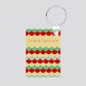 Grand Sponsor (abstract Rain) Keychains