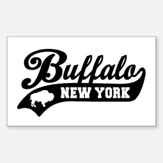 Buffalo New York Sticker (Rectangle)