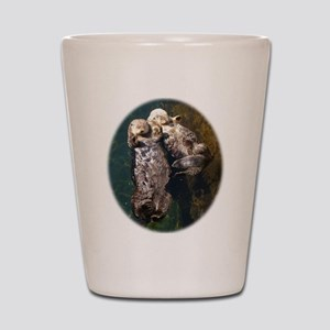 otterly adorable Shot Glass