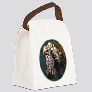 otterly adorable Canvas Lunch Bag