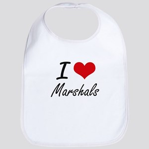 I love Marshals Bib