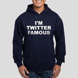 I'm Twitter Famous Men's Hoodie (dark)
