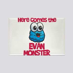 Evan Monster Rectangle Magnet (10 pack)