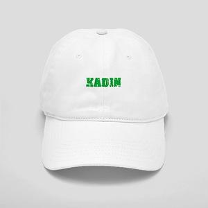 Kadin Name Weathered Green Design Cap