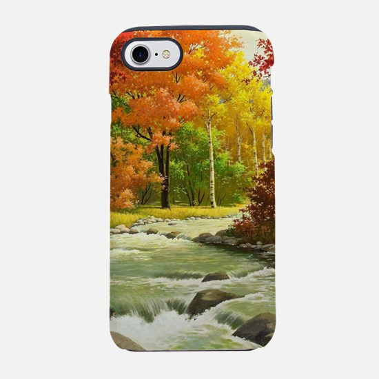 Autumn Landscape Painting iPhone 8/7 Tough Case