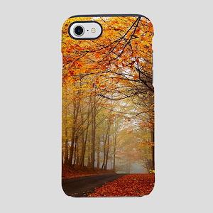 Road At Autumn iPhone 8/7 Tough Case