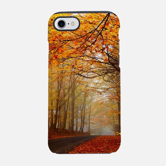 Road At Autumn iPhone 8/7 Tough Case