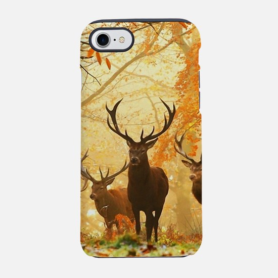 Deer In Autumn Forest iPhone 8/7 Tough Case