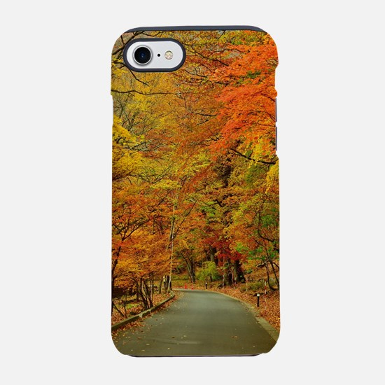 Park At Autumn iPhone 8/7 Tough Case