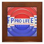 Pro Life Framed Tile