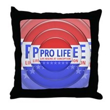 Pro Life Throw Pillow