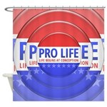 Pro Life Shower Curtain