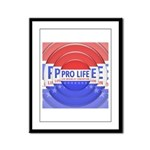 Pro Life Framed Panel Print