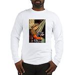 Madonna/Rottweiler Long Sleeve T-Shirt