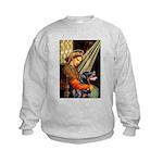 Madonna/Rottweiler Kids Sweatshirt