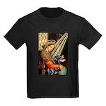 Madonna/Rottweiler Kids Dark T-Shirt