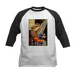 Madonna/Rottweiler Kids Baseball Jersey
