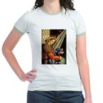 Madonna/Rottweiler Jr. Ringer T-Shirt