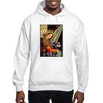 Madonna/Rottweiler Hooded Sweatshirt