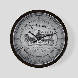 Undertaker Vintage Style Wall Clock