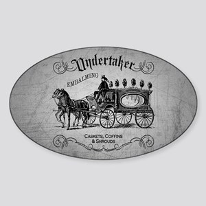 Undertaker Vintage Style Sticker