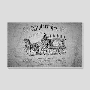 Undertaker Vintage Style Car Magnet 20 x 12