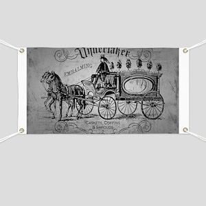 Undertaker Vintage Style Banner