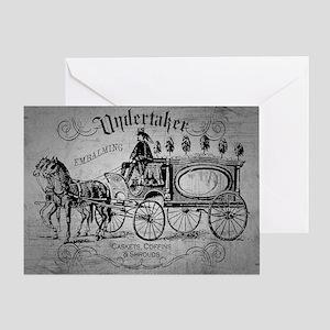 Undertaker Vintage Style Greeting Cards